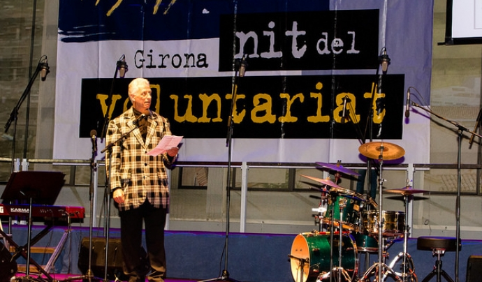 Imatge de la XII Nit del Voluntariat a Girona.