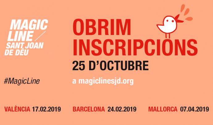 Ja s'han obert les inscripcions per participar a la Magic Line 2019. Font: Magic Line SjD