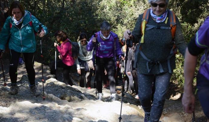 La Magic Line recorrerà els turons de Barcelona amb recorreguts de 10 fins a 40km. Font: Magic Line SjD