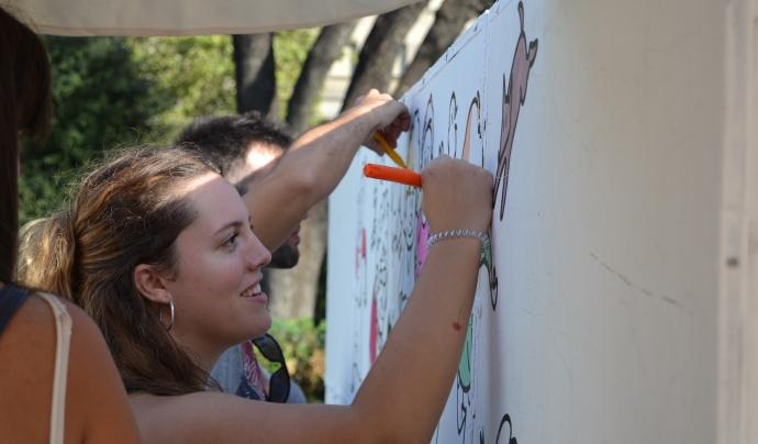 Berta Barquer, tècnica referent del projecte 'Mirades'. Font: FCVS