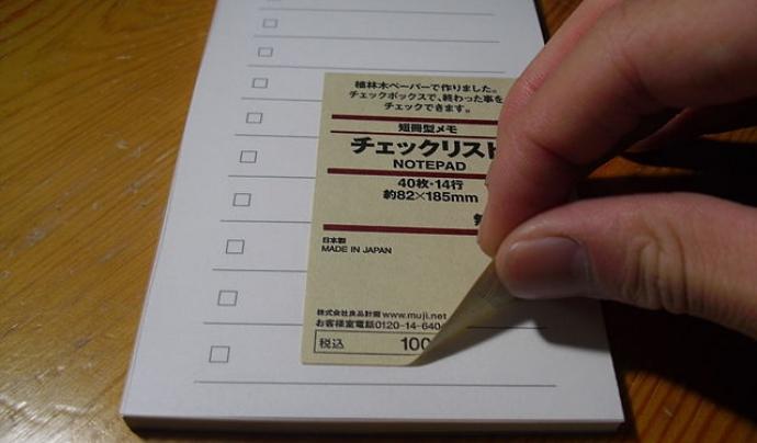Per apuntar totes les tasques en papers, heu de ser molt organitzats. Imatge de Leoyunyi . Llicència d'ús CC BY-SA 4.0 Font: Imatge de Leoyunyi . Llicència d'ús CC BY-SA 4.0
