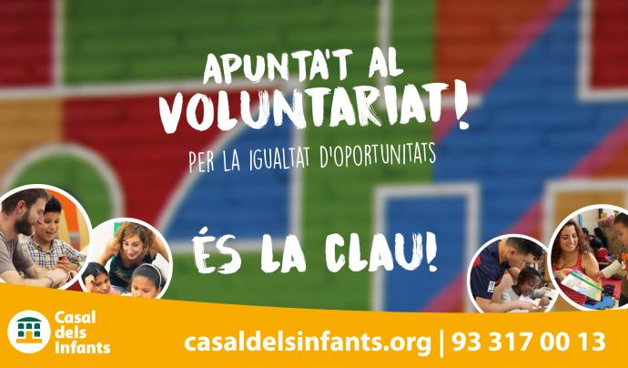 El voluntariat és la clau