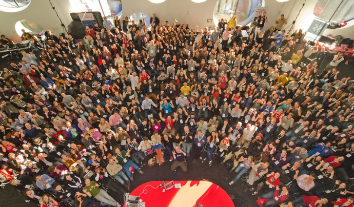 El Mozilla Festival del 2021 serà totalment virtual i es necessita voluntariat. Imatge de Mozilla in Europe. Llicència d'ús CC BY 2.0. Font: Mozilla in Europe. Llicència d'ús CC BY 2.0.