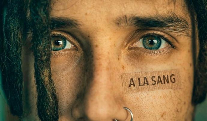 'A la sang' és la cançó que ha grabat l'artista terrassenc de 'trap', Lildami. Font: Gencat