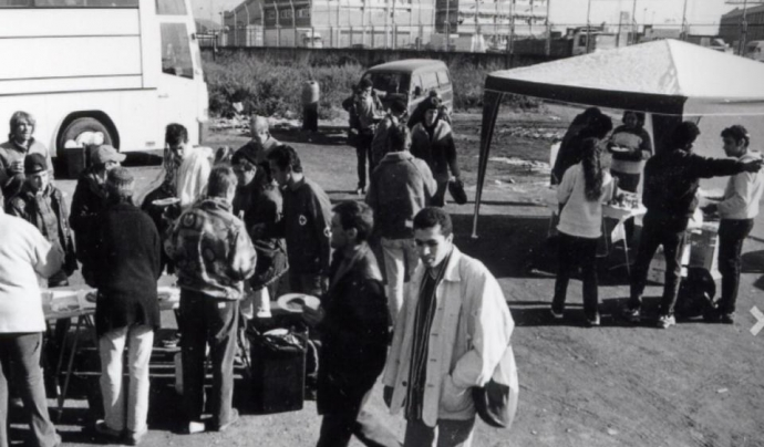 BD va néixer als anys '80 de la mà de persones professionals i voluntàries per donar resposta a la problemàtica de la droga