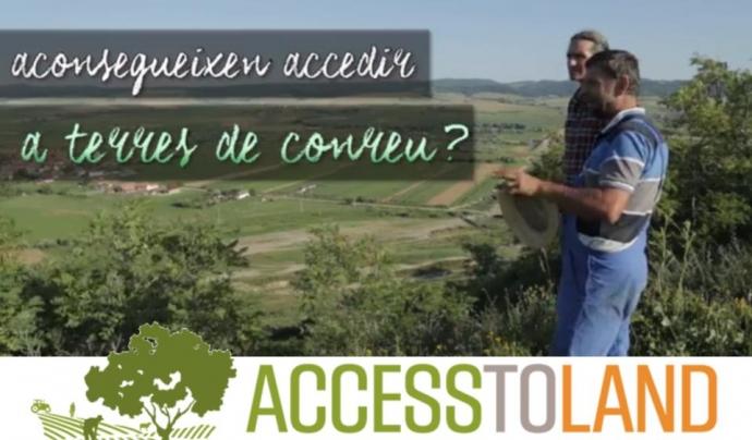 Acces to Land treballen per impulsar l'agroecologia a Europa i facilita l'accés a la terra de la jove pagesia  Font: Acces to Land