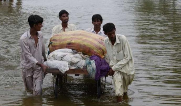 Es preveu que milions de persones hauran d'emigrar  per motius climatics  Font: Acnur