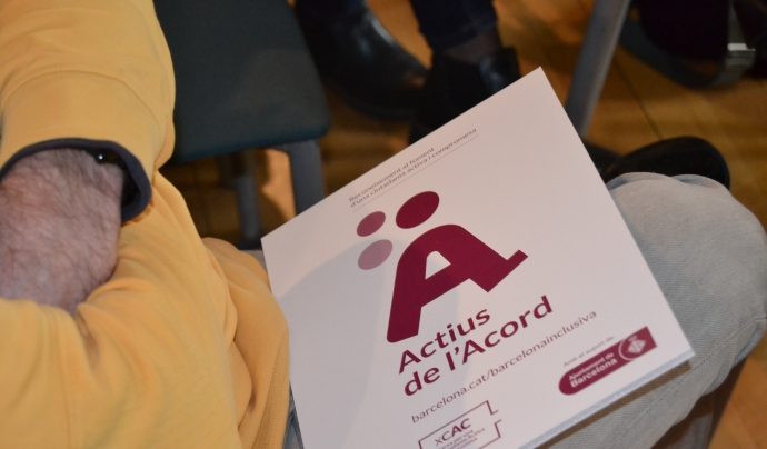 El segell 'Actius de l'Acord' reconeix entitats i iniciatives que treballen per promoure el compromís social ciutadà. Font: Voluntaris.cat