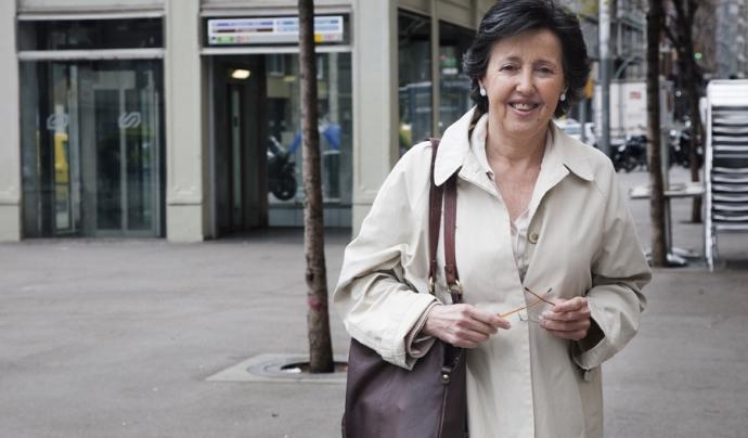 Adela Suñer, responsable de difusió de l'Associació per l'Economia del Bé Comú