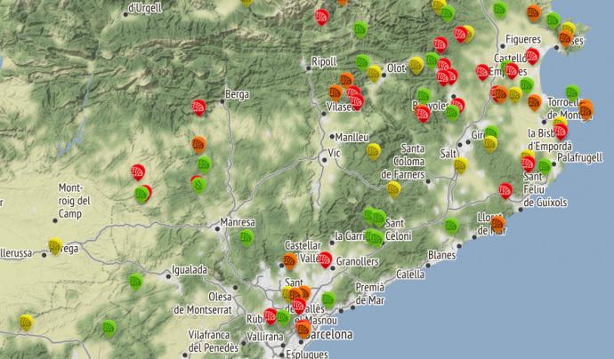 Les aportacions ciutadanes queden representades en un mapa
