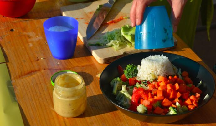 Una alimentació saludable ha d'incloure verdures, cereals i llegums. Font: Zero Waste Bcn