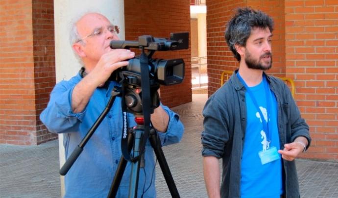 El realitzador Agustí Coromina dirigirà el projecte amb la coordinació de Juan del Rio, de la Red de Transición. Font: Alternatives