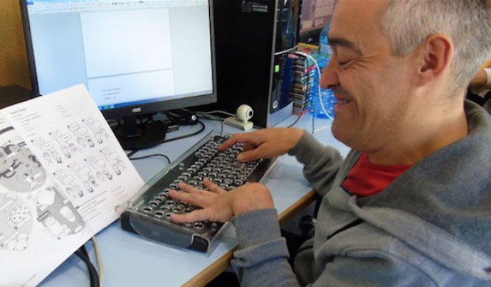 86 persones amb discapacitat aprenen a través de la plataforma EAD. Font: Auxilia