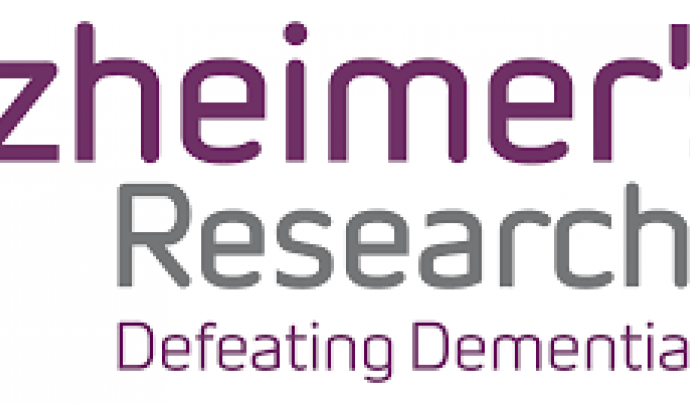 Logo d'Alzheimer's Research UK.