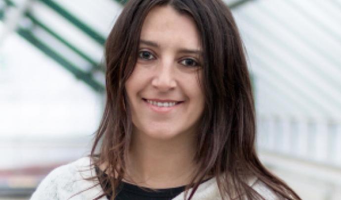 Amaranta Herrero és activista a Climacció, des d'on es promou el discurs ecofeminista Font: Genok