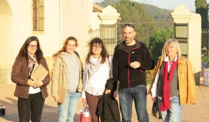 Anna Nebot té un acord de custòdia a la finca d'Aiguanatura amb l'entitat ambiental Graellsia, per la conservació de la biodiversitat Font: Graellsia