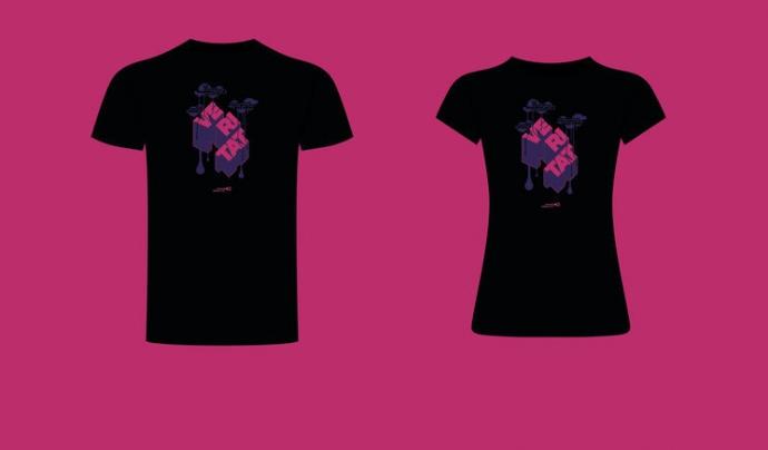 Una de les recompenses és una samarreta dissenyada pel Jordi Calvís. Imatge de Jordi Calvis. Font: Jordi Calvís