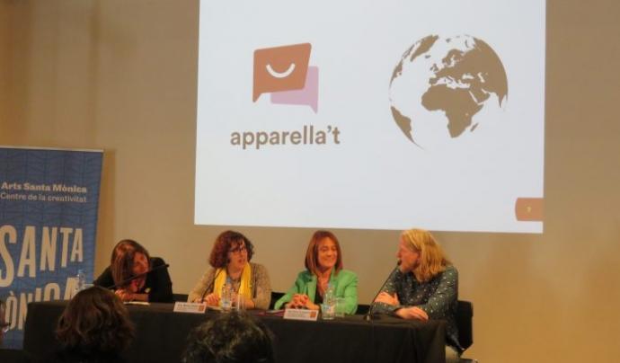 Presentació de l'aplicació Apparella't Font: Plataforma per la Llengua