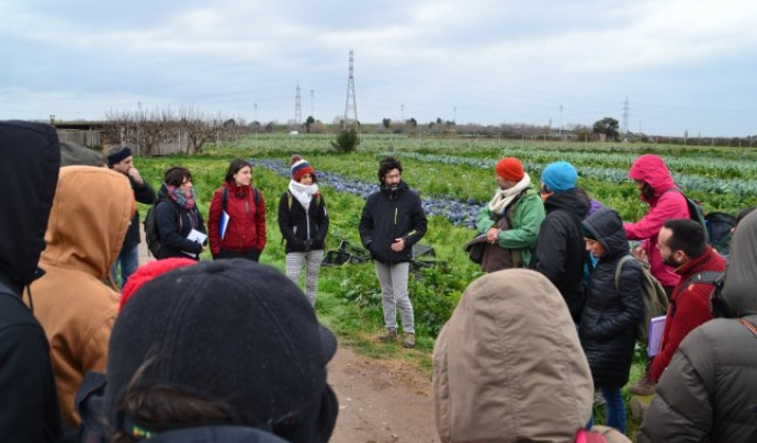 L'Associació Arran de Terra promou l'agroecologia i el desenvolupament local agroecològica, des de la proximitat amb l'economia social i solidària Font: Arran de Terra
