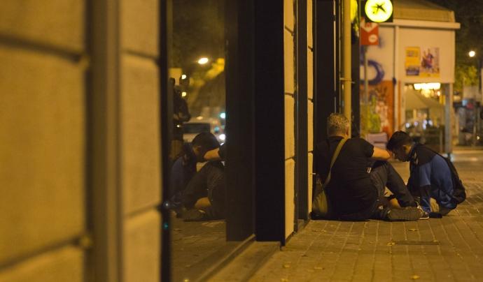 Augmenta a 3 anys i 11 mesos el temps d'estada al carrer Font: Arrels Fundació, Flickr