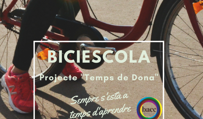 El projecte biciescola Temps de Dones connecta la mobilitat sostenible amb l'empoderament de dones en situacions vulnerables