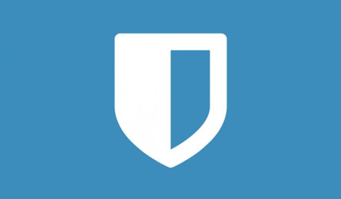 Bitwarden permet crear i guardar contrassenyes.  Font: Bitwarden