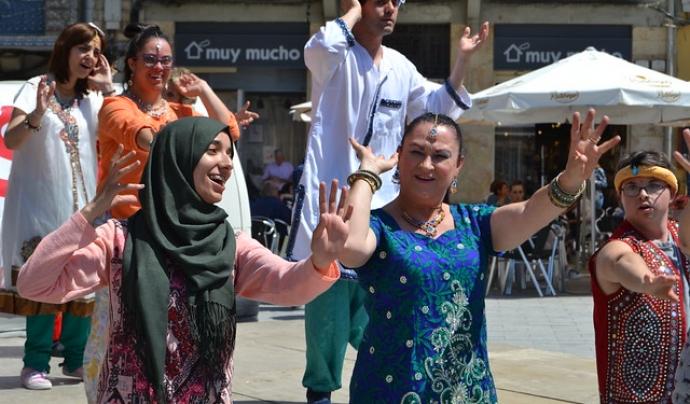 La Fundació Onada realitzarà una actuació de Bollywood durant el TAST. Font: FCVS