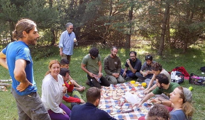 El projecte Boscos de Muntanya és una de les iniciatives de voluntariat ambiental més grans de Catalunya Font: Associació Boscos de Muntanya