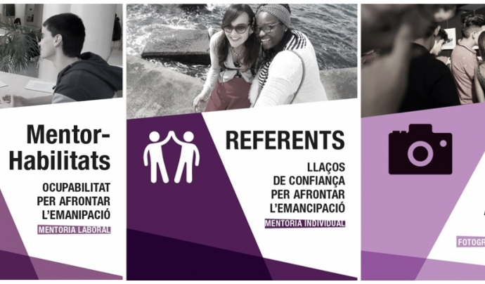Els diferents projectes on col·laboraran les persones voluntàries.