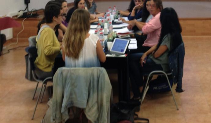 Treball en xarxa amb el Grup de voluntariat Dincat
