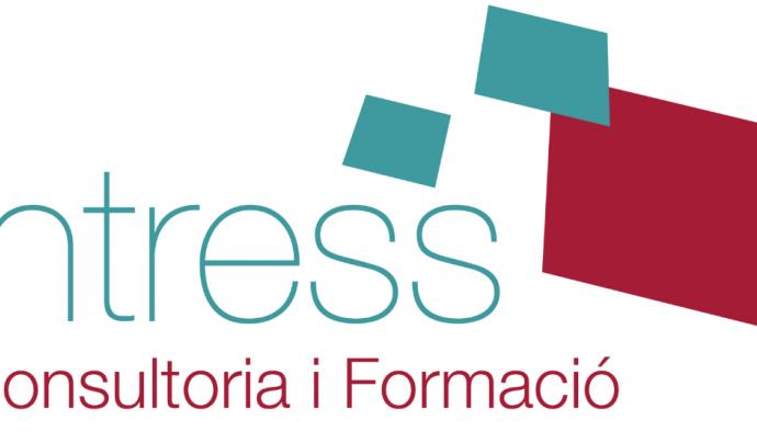 Logo d'Intress, organització que treballa la igualtat de gènere. Font: Intress