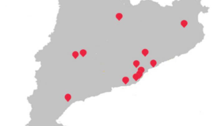 Punts del territori on arribarà la campanya.