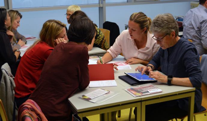 Taller Jornada Catalana de Voluntariat i Salut Font: FCVS