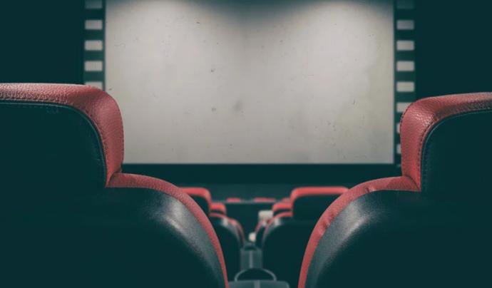 El cinema oferia reestrena de pel·lícules en versió original subtitulades en català.  Font: CC