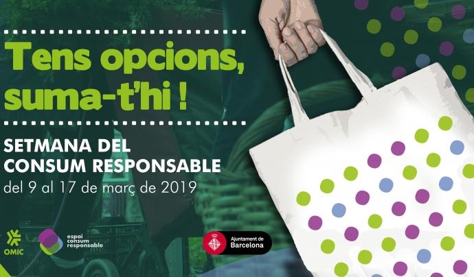 Cartell de la Setmana del Consum Responsable. Font: Espai Consum Responsable