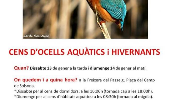 El Grup Natura Solsonès convida a participar al cens a les zones humides a la comarca del Solsonès