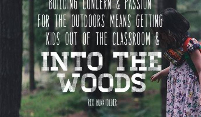 Una de les línies d'actuació fomenta que les escoles puguin sortir a fer les classes en la natura Font: Children&Nature Network