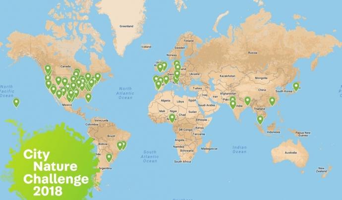 Més de 60 ciutats de tot el món participen en la Nature City Challenge