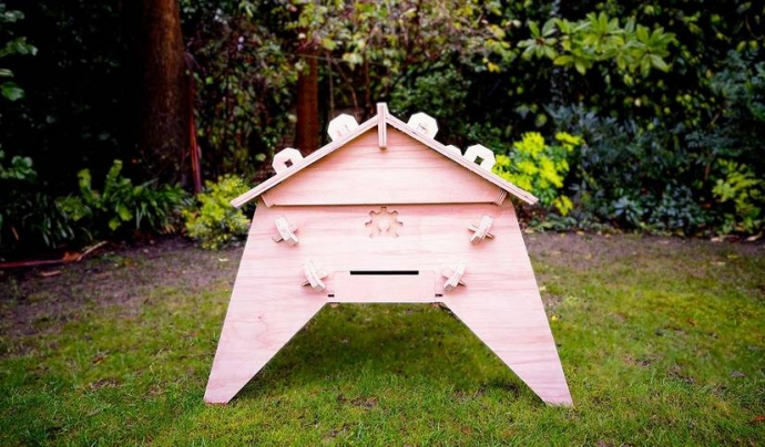 L'Open Source Beehives és un projecte per la preservació de les abelles.  Font: Open Source Beehives
