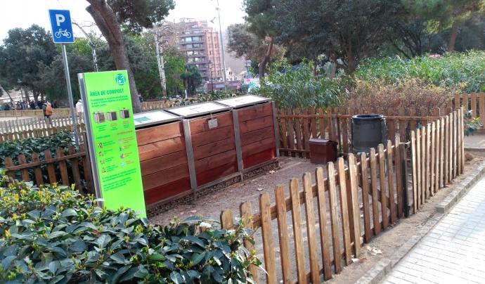 Els veïns i veïnes poden portar els residus orgpanics al compostador a qualsevol hora del dia  Font: Espai Ambiental