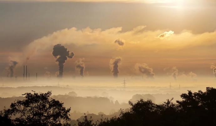 El diòxid de carboni supera els límits recomanats per l'OMS. Font: CC