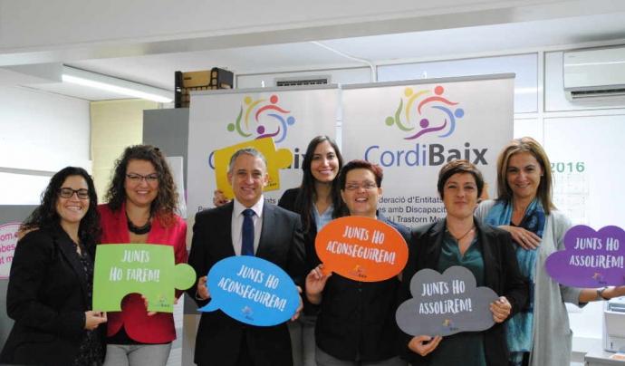 Des de fa 30 anys, Cordibaix potencia la integració de les persones amb discapacitat i /o trastorn mental a través del treball. Font: Cordibaix