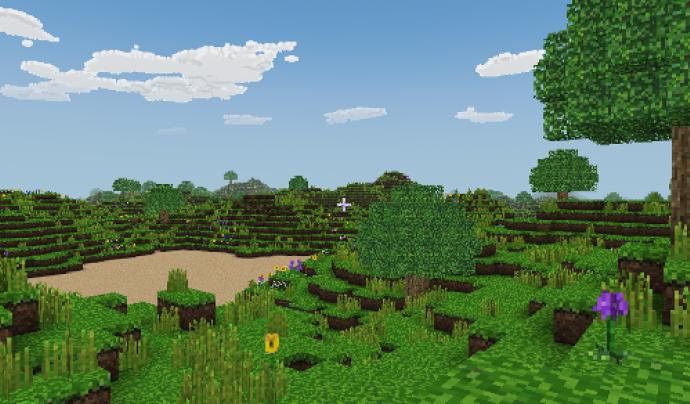 Captura de pantalla del joc Craft Font: Craft