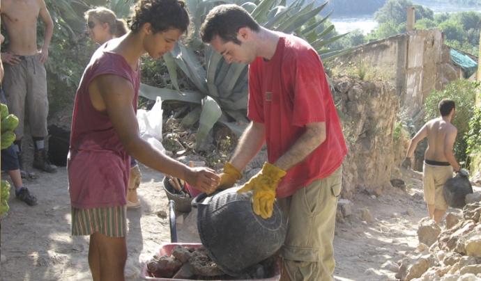 Camp de treball amb la Fundació Escolta Josep Carol