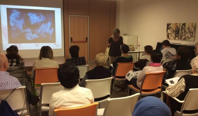 Sessió d'un dels cursos de formació adreçat a voluntaris i voluntàries de la FECEC.