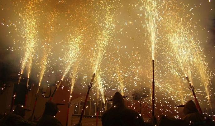 Els diables de Vilafranca del Penedès