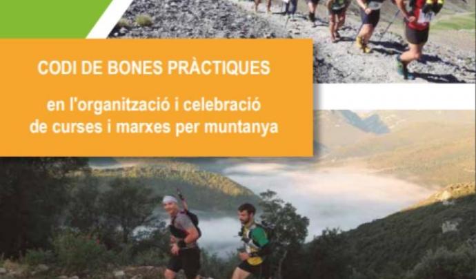 Guia de bones pràctiques per al desenvolupament de curses per muntanya en espais naturals protegits Font: Departament de Territori i Sostenibilitat