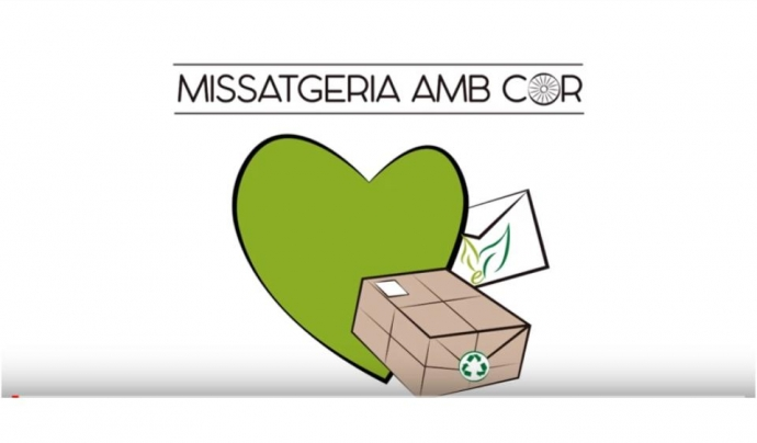 L'empresa de missatgeria neix amb criteris socials i ambientals  Font: Missatgers amb cor