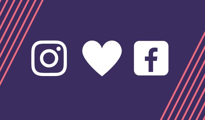 Facebook i Instagram es poden vincular molt fàcilment.  Font: Colectic