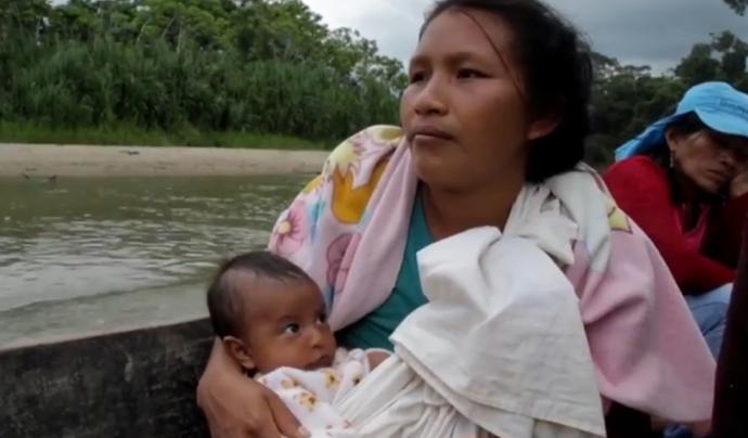 'Yaku Chaski Warmikuna: Mensajeras del Río', guardonat amb el Premi Berta Cáceres. Font: Dona'm cine
